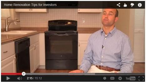 [VIDEO] Home Renovation Tips for Real Estate Investors