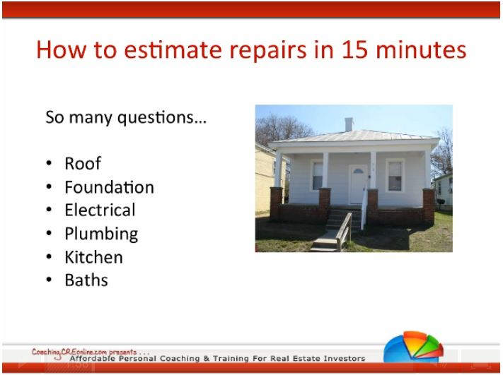 [VIDEO] How to Estimate Home Repairs in 15 Minutes or Less